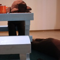 Installointi Eläin, Haiharan taidekeskus, 2013