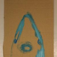Pikkuinen ressukka, jota ei saa kiusata   22,5 x 26,5 cm   akryyli pahville