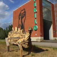 AnnaPekkala_Pushing Daisies(Luonnoksia Dinosauruksista II)_Stegosaurus2